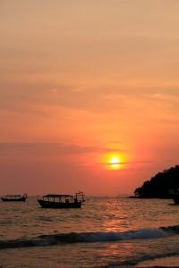 Auringonlasku Sihanoukvillessä