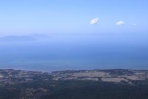Korkealta näkee kauas myös Kampotissa